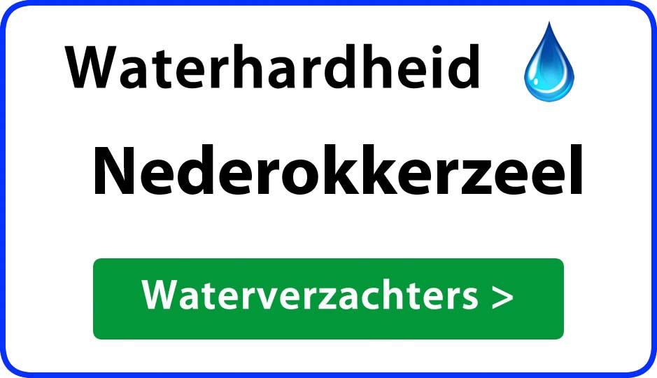 waterhardheid nederokkerzeel waterverzachter