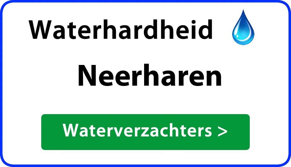 waterhardheid neerharen waterverzachter