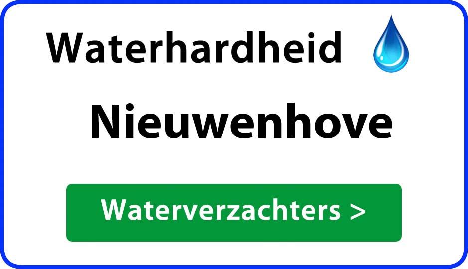 waterhardheid nieuwenhove waterverzachter