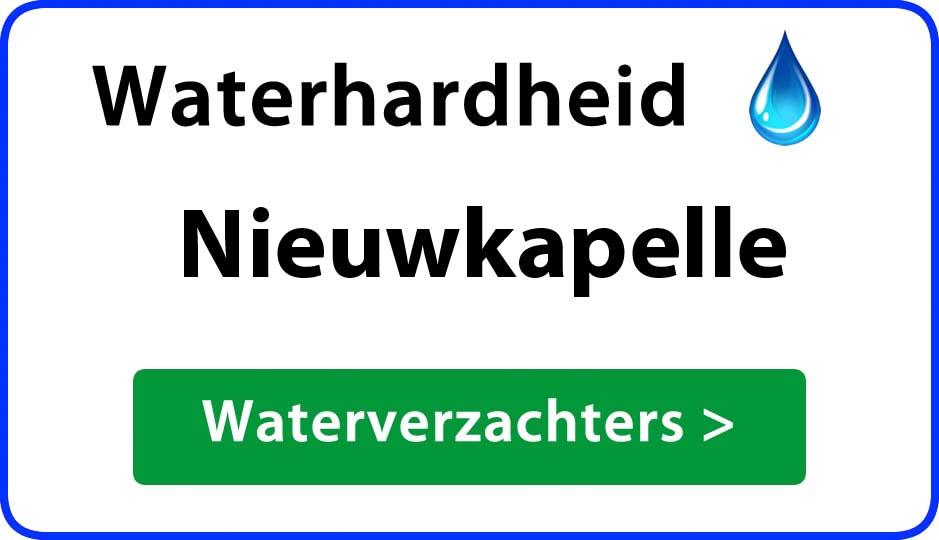 waterhardheid nieuwkapelle waterverzachter