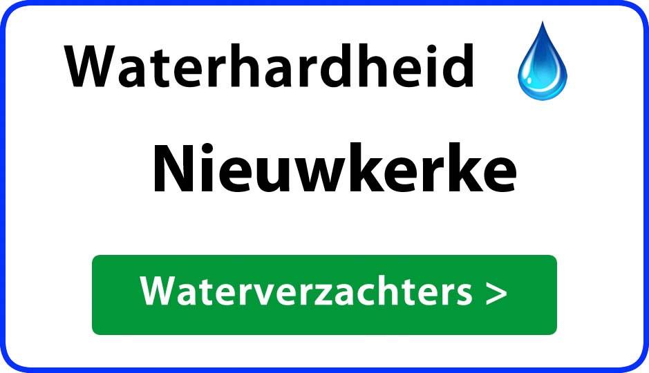 waterhardheid nieuwkerke waterverzachter