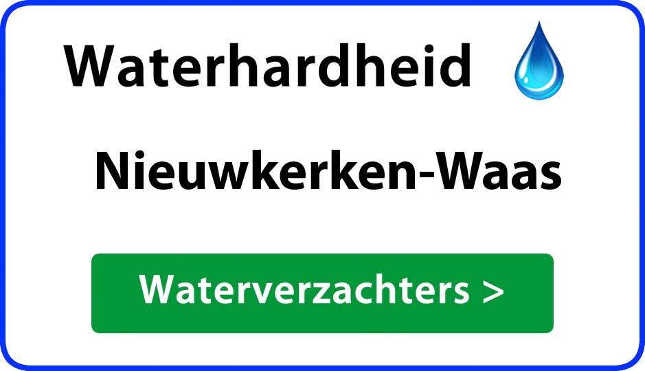 waterhardheid nieuwkerken-waas waterverzachter