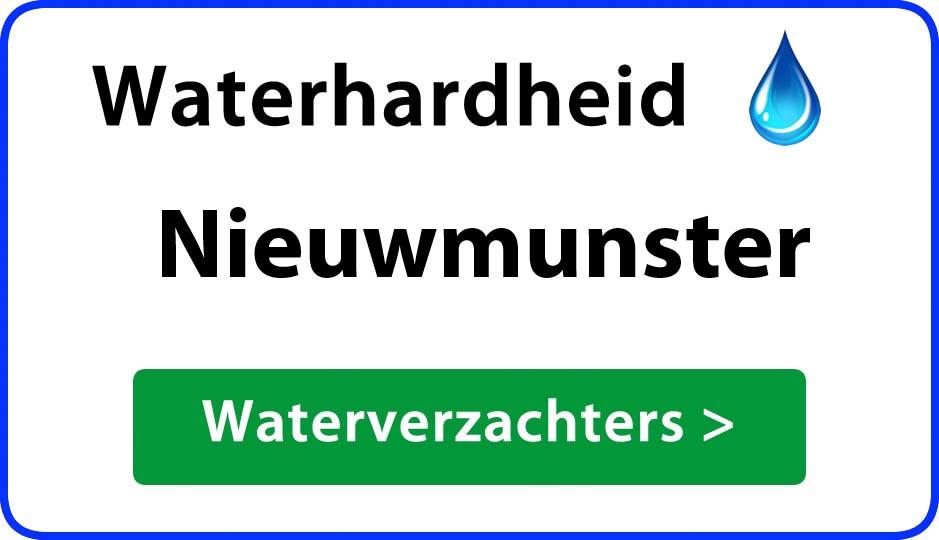 waterhardheid nieuwmunster waterverzachter