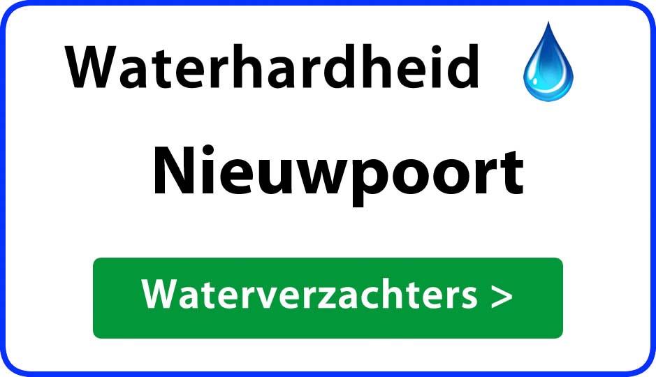 waterhardheid nieuwpoort waterverzachter