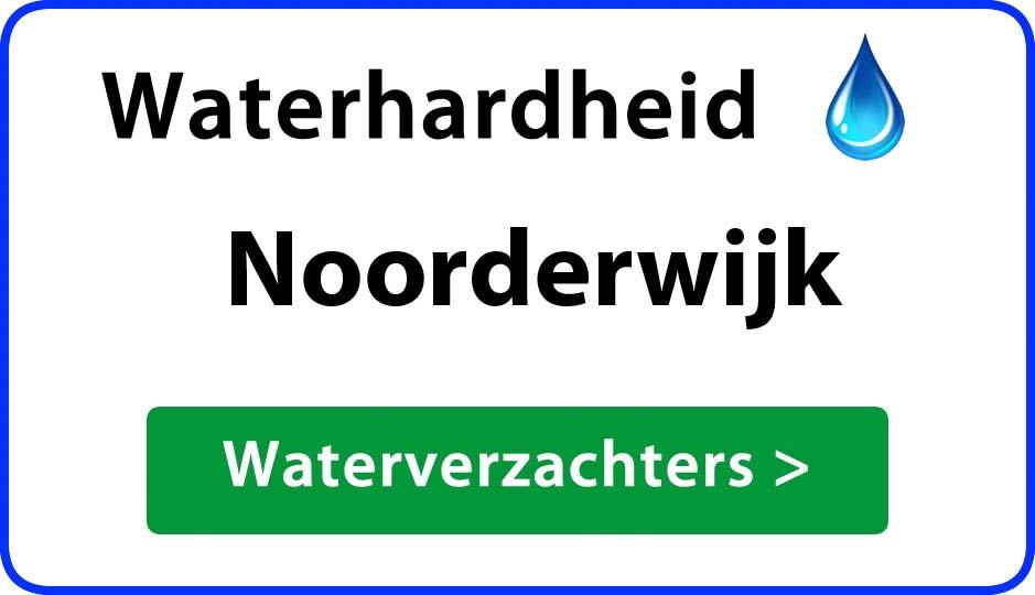 waterhardheid noorderwijk waterverzachter