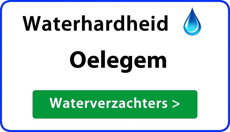 waterhardheid oelegem waterverzachter
