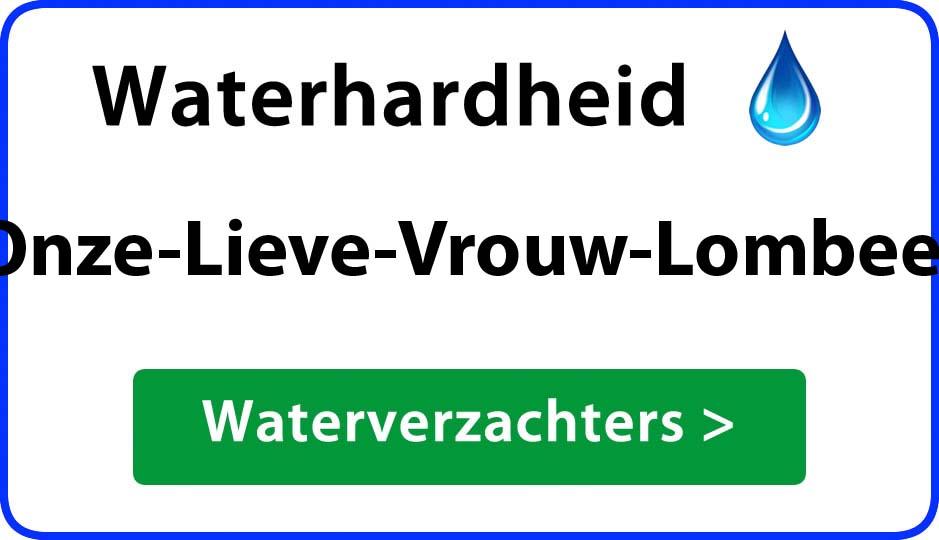 waterhardheid onze-lieve-vrouw-lombeek waterverzachter