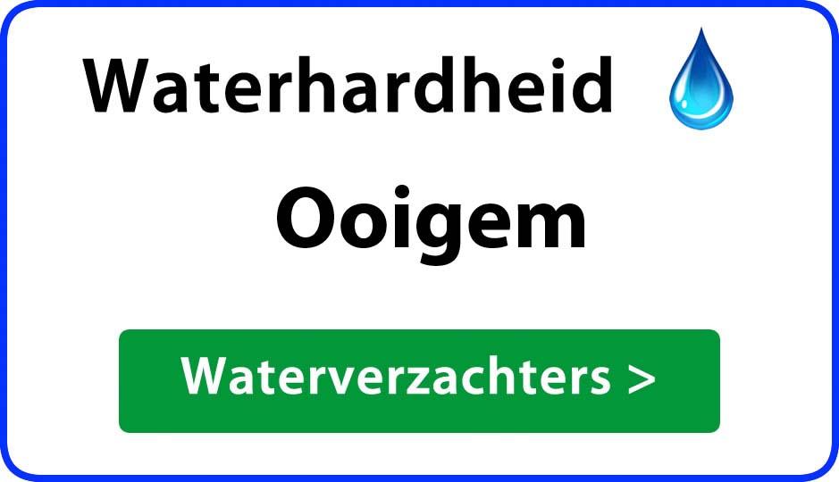 waterhardheid ooigem waterverzachter