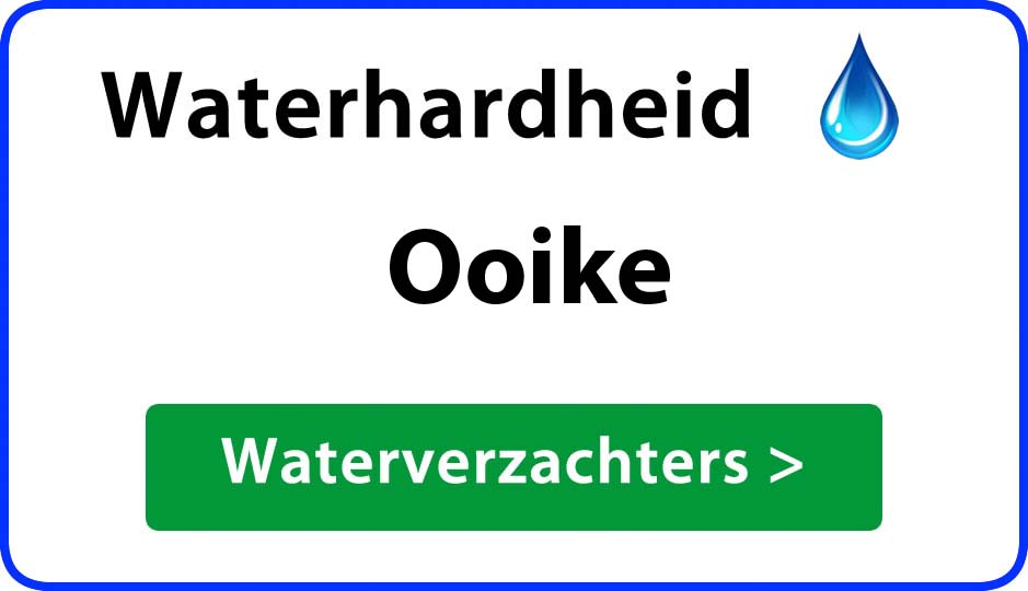 waterhardheid ooike waterverzachter