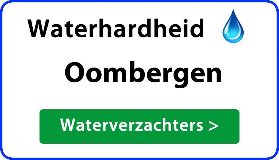 waterhardheid oombergen waterverzachter