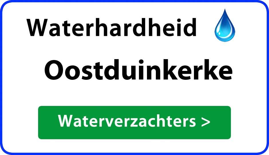 waterhardheid oostduinkerke waterverzachter