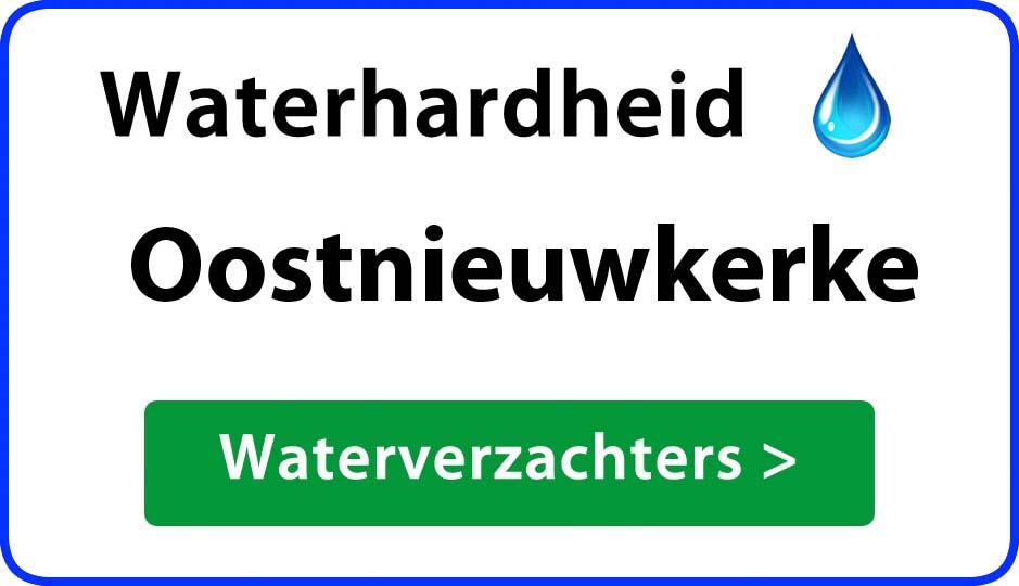 waterhardheid oostnieuwkerke waterverzachter