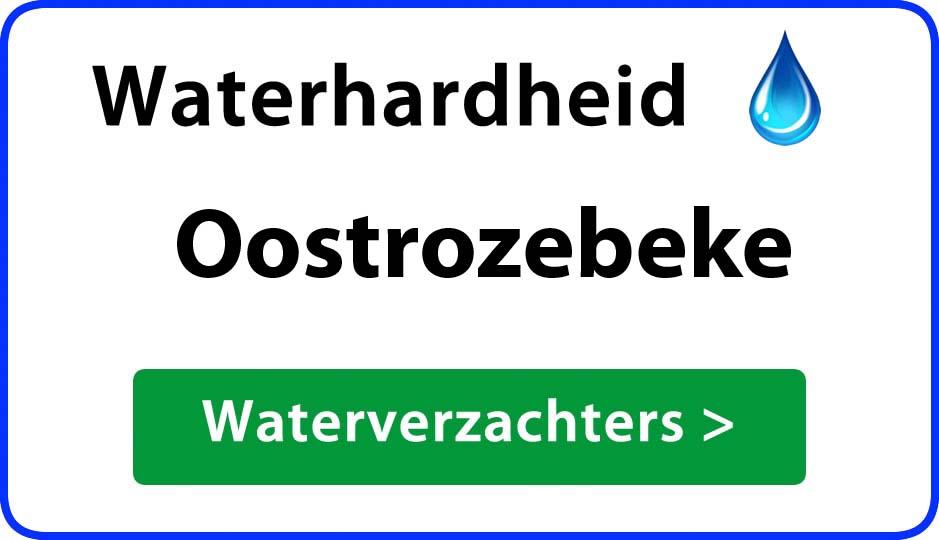 waterhardheid oostrozebeke waterverzachter