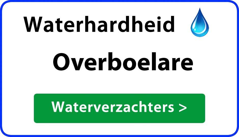 waterhardheid overboelare waterverzachter