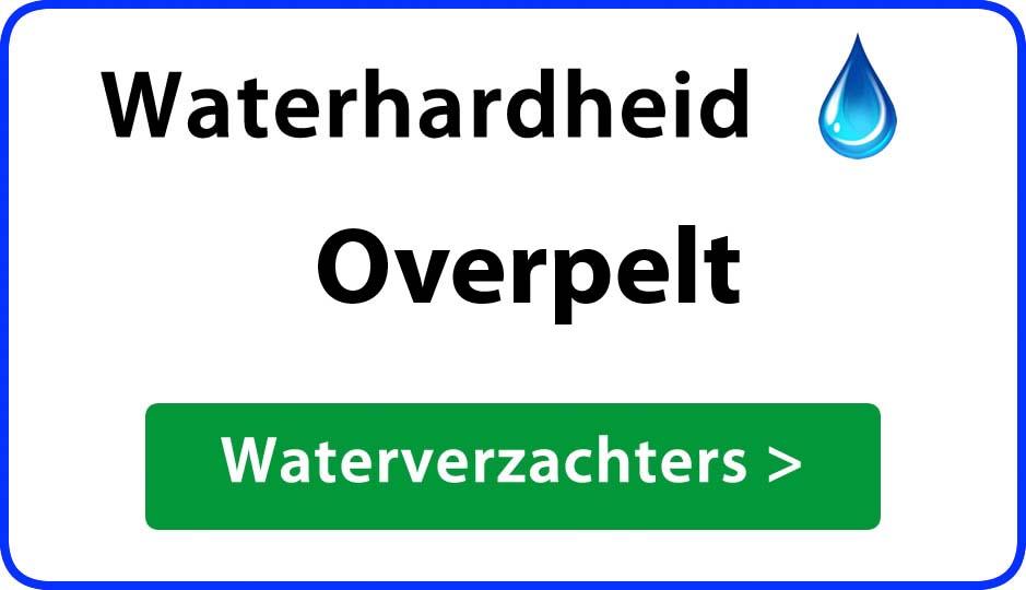 waterhardheid overpelt waterverzachter