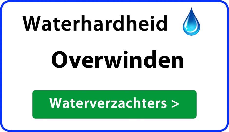 waterhardheid overwinden waterverzachter