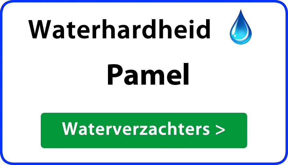 waterhardheid pamel waterverzachter