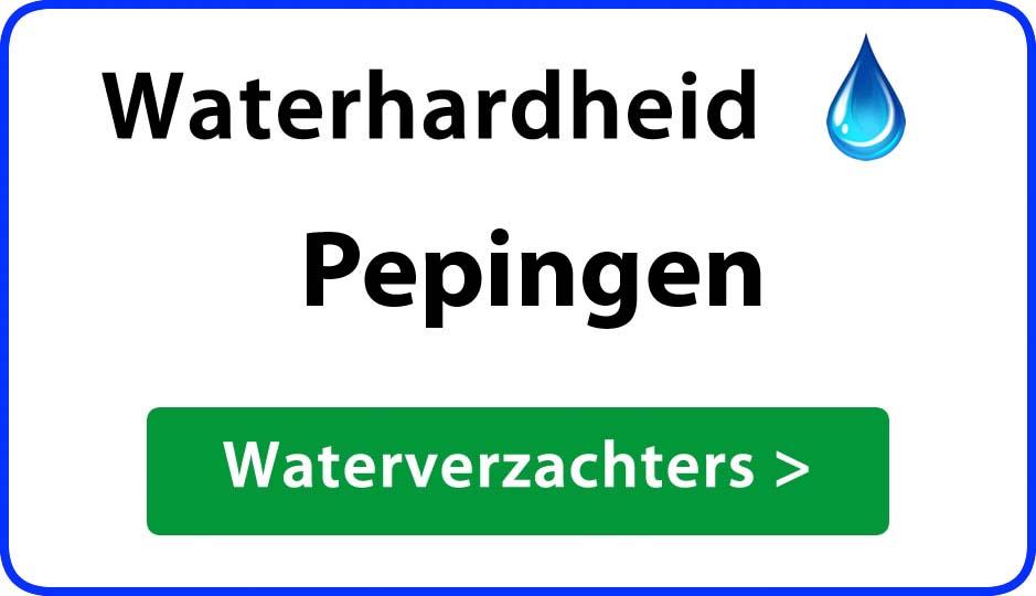 waterhardheid pepingen waterverzachter
