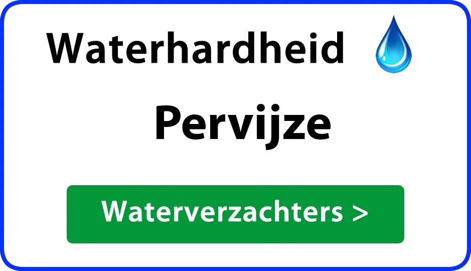 waterhardheid pervijze waterverzachter