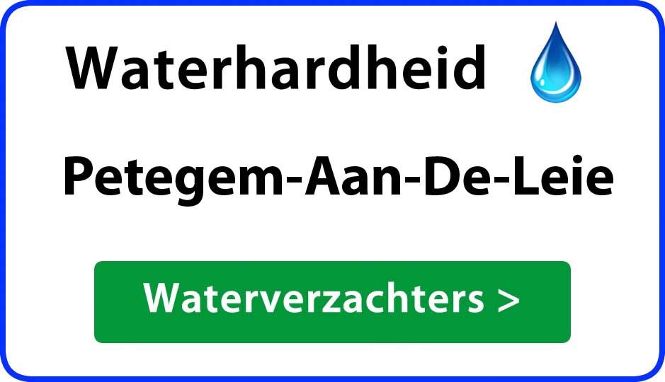 waterhardheid petegem-aan-de-leie waterverzachter