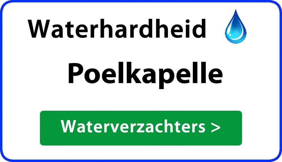 waterhardheid poelkapelle waterverzachter