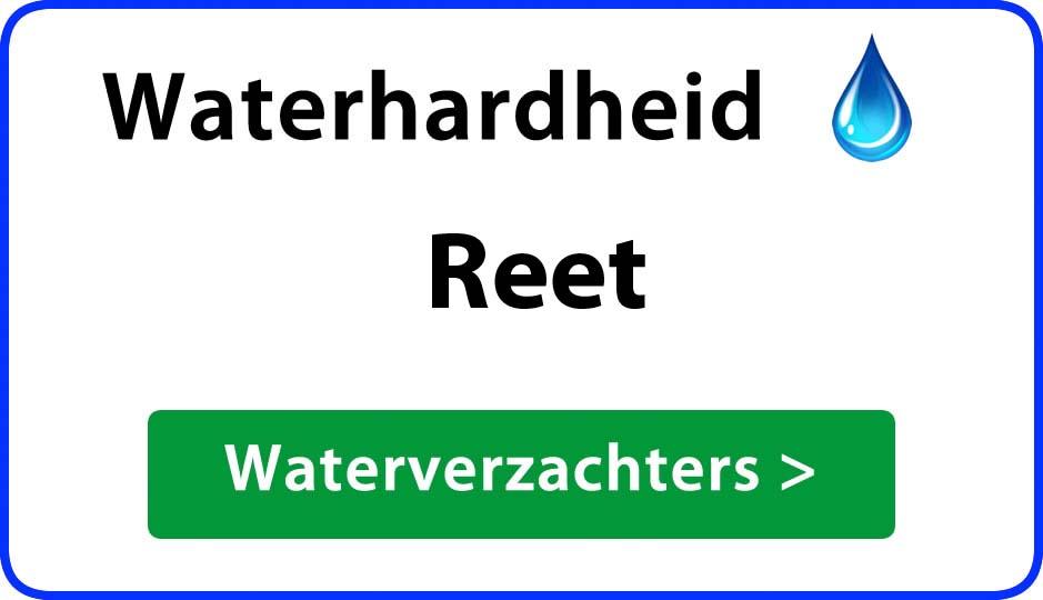 waterhardheid reet waterverzachter