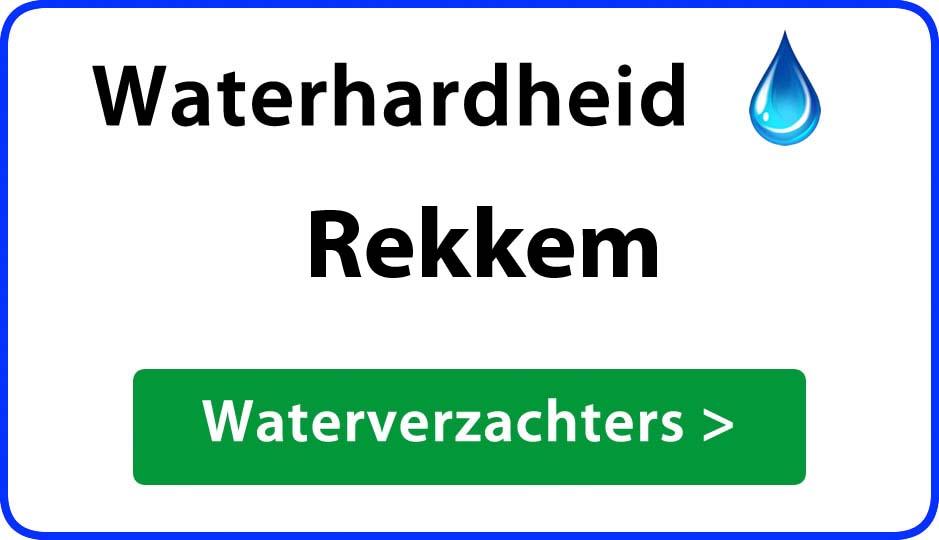 waterhardheid rekkem waterverzachter
