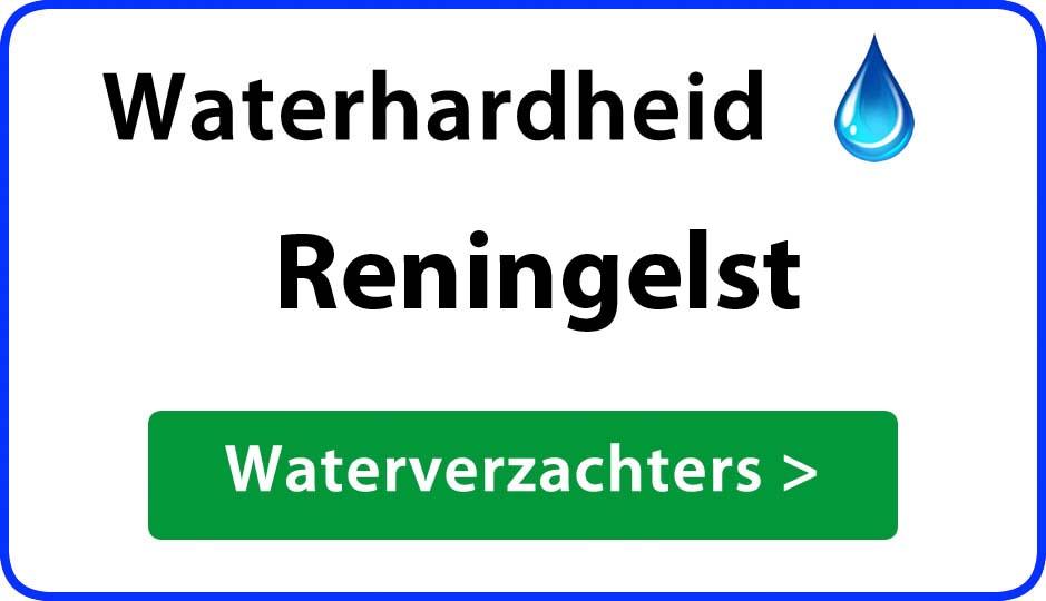 waterhardheid reningelst waterverzachter