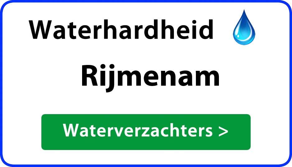 waterhardheid rijmenam waterverzachter