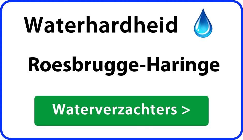waterhardheid roesbrugge-haringe waterverzachter
