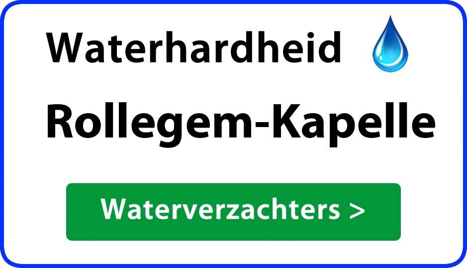 waterhardheid rollegem-kapelle waterverzachter
