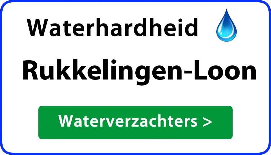 waterhardheid rukkelingen-loon waterverzachter