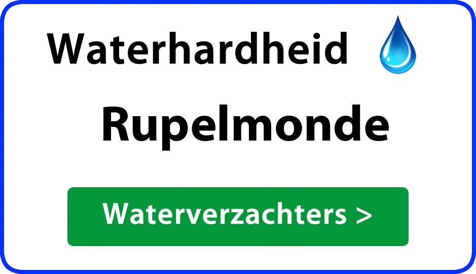 waterhardheid rupelmonde waterverzachter