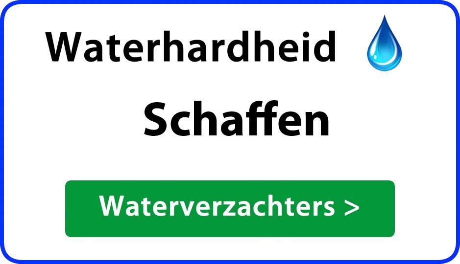 waterhardheid schaffen waterverzachter