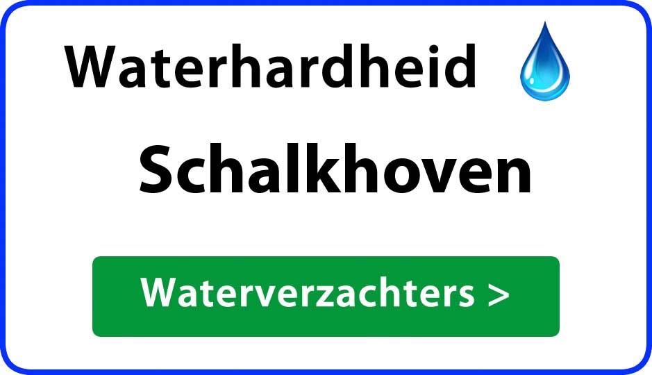 waterhardheid schalkhoven waterverzachter
