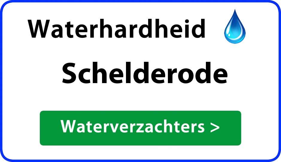 waterhardheid schelderode waterverzachter