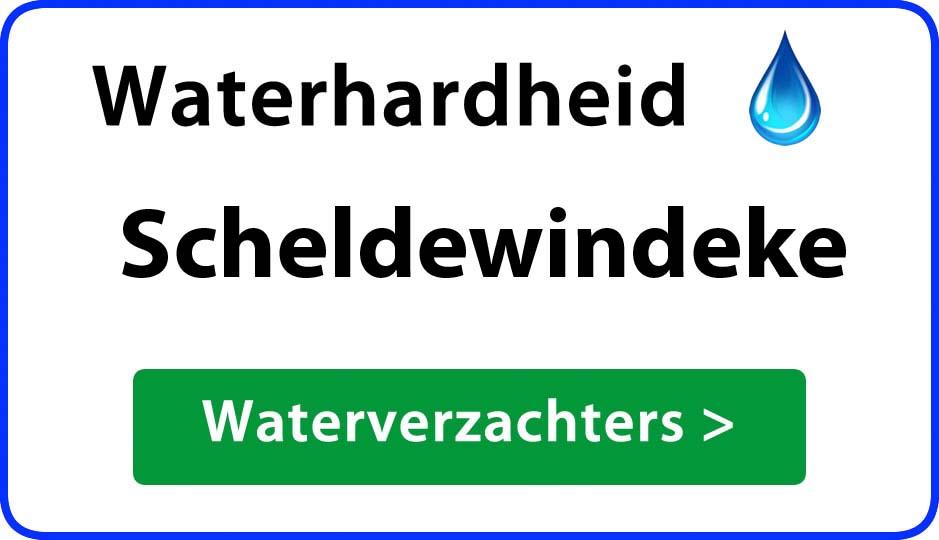 waterhardheid scheldewindeke waterverzachter