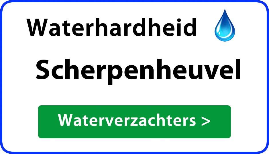 waterhardheid scherpenheuvel waterverzachter