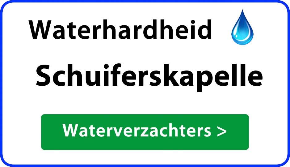 waterhardheid schuiferskapelle waterverzachter