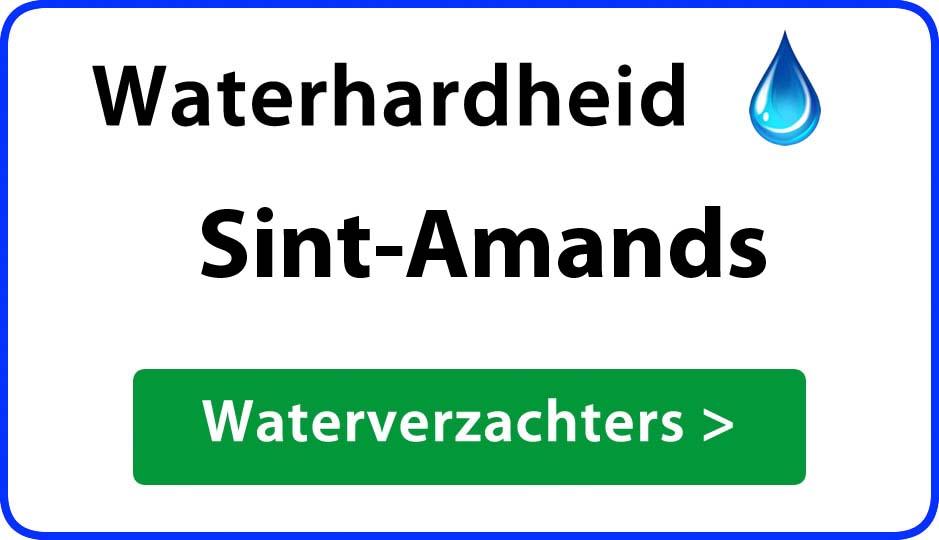 waterhardheid sint-amands waterverzachter