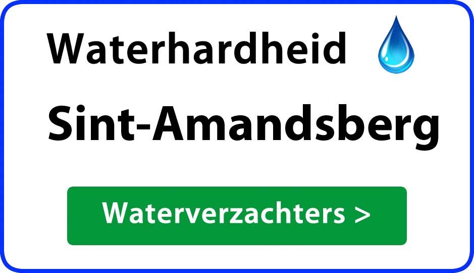 waterhardheid sint-amandsberg waterverzachter