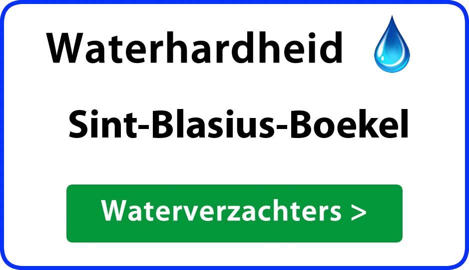waterhardheid sint-blasius-boekel waterverzachter