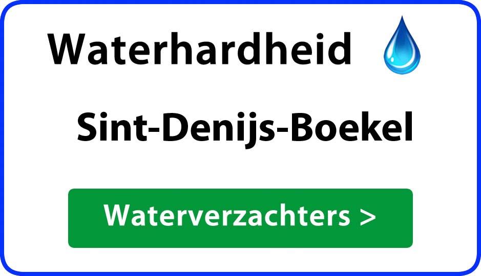waterhardheid sint-denijs-boekel waterverzachter