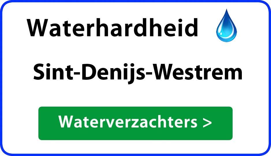 waterhardheid sint-denijs-westrem waterverzachter