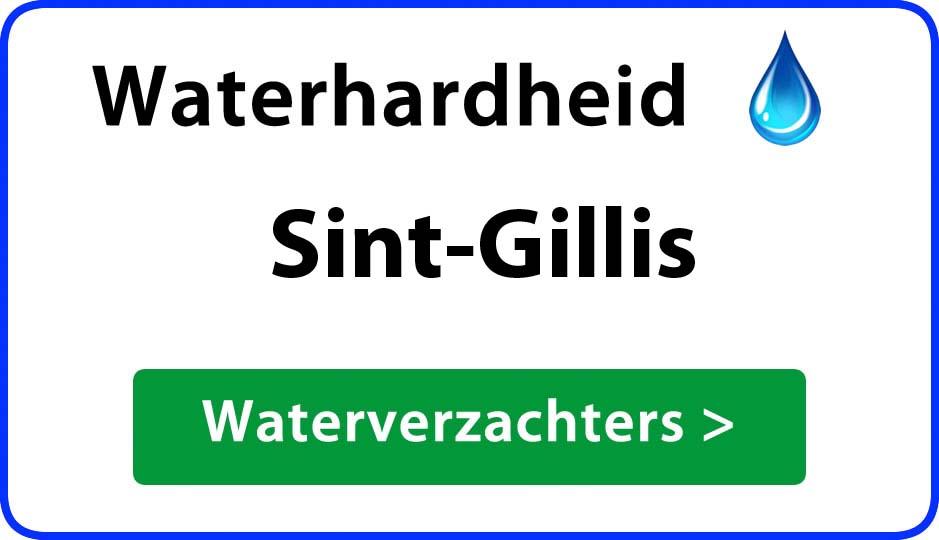 waterhardheid sint-gillis waterverzachter