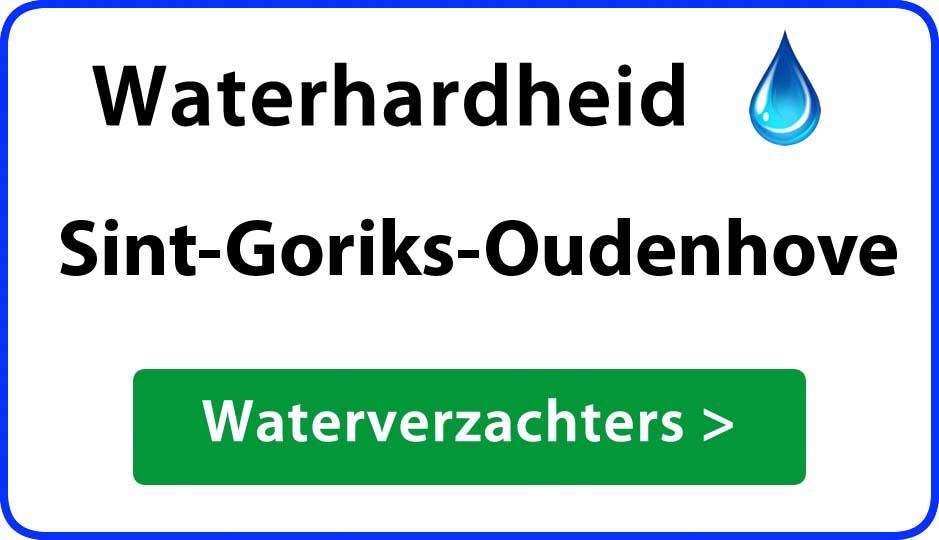 waterhardheid sint-goriks-oudenhove waterverzachter
