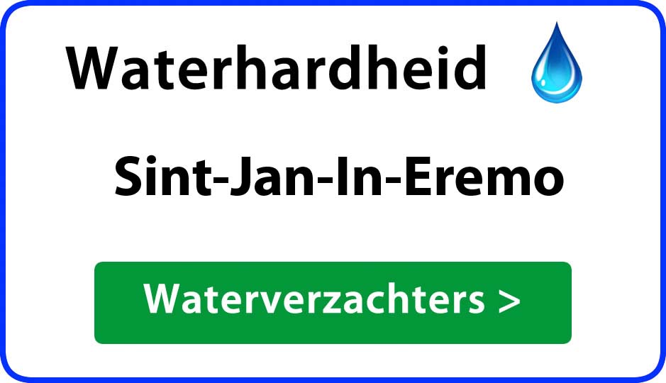 waterhardheid sint-jan-in-eremo waterverzachter