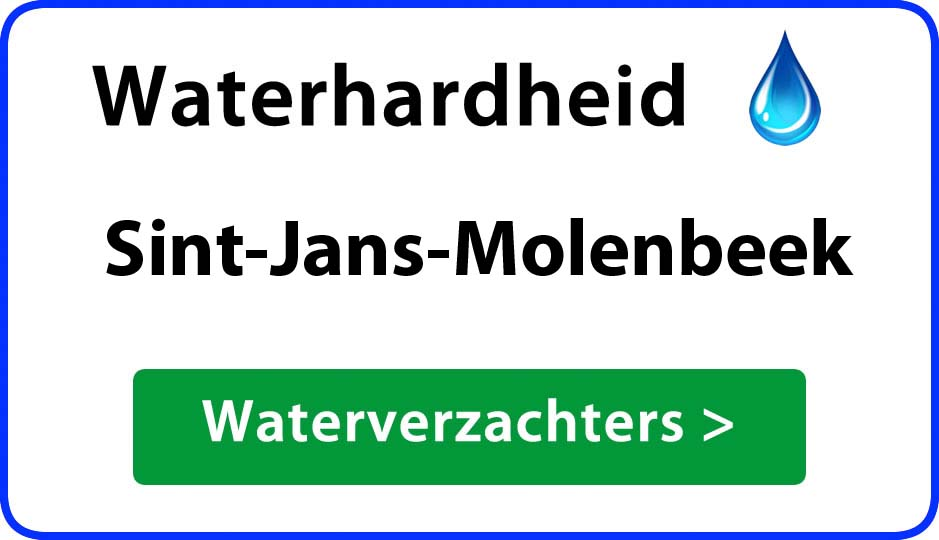 waterhardheid sint-jans-molenbeek waterverzachter