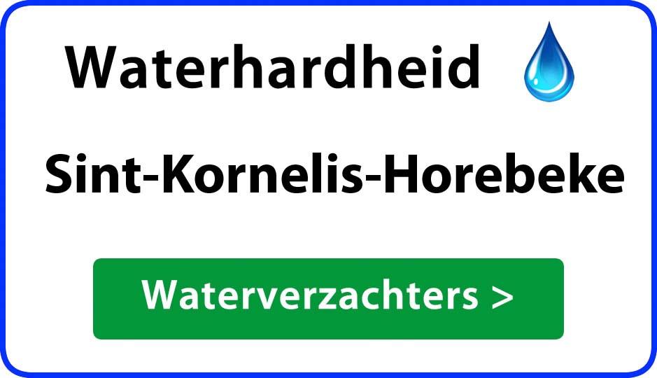 waterhardheid sint-kornelis-horebeke waterverzachter
