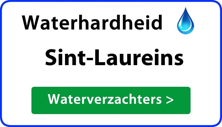 waterhardheid sint-laureins waterverzachter